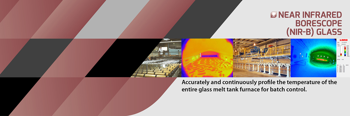 AMETEK Land Near Infrared Borescope (NIR-B) Glass Melt Tank Furnace