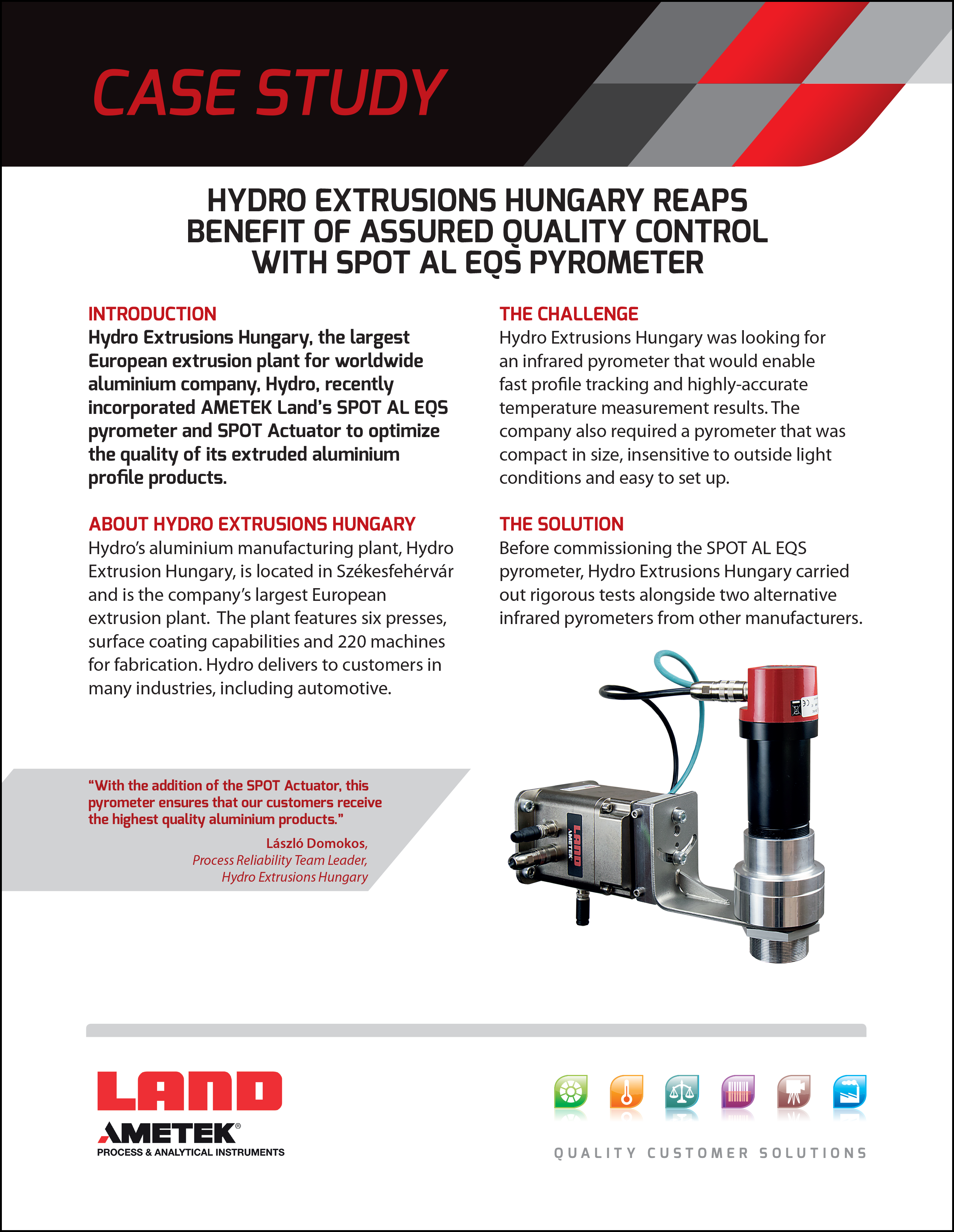 Hydro Extrusions Hungary - Case Study