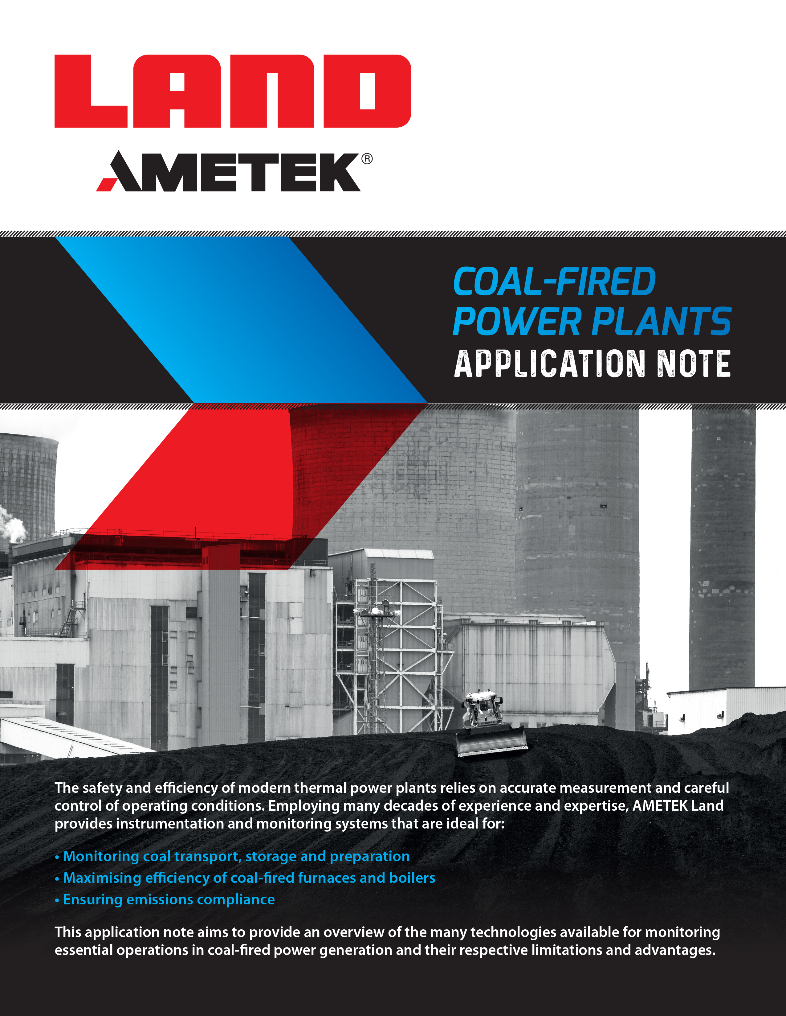 Application Note - Coal Fired Power Plants