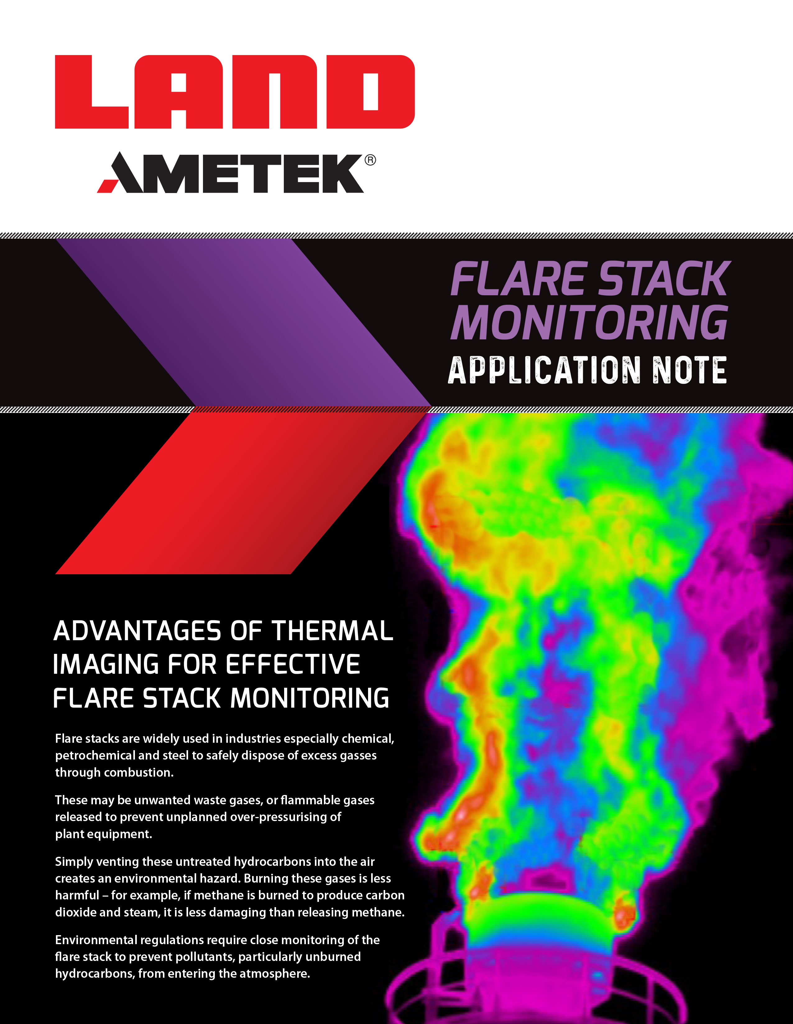 Flare Stack Monitoring Application Note (EN)