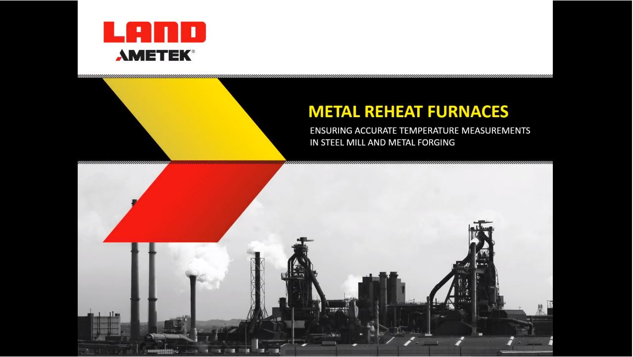 Application Note Metal Reheat Furnaces