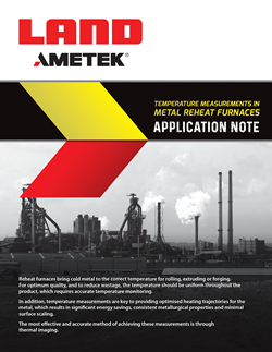 Application Note - Temperature Measurements in Reheat Furnaces