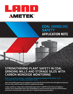 Application Note - Coal Handling Safety