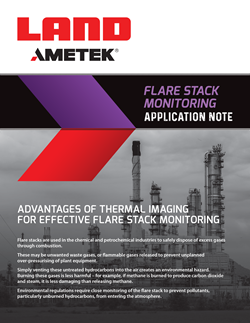 Application Note - Flare Stack Monitoring