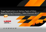 Target Applications on Various Types of Glass Manufacturing Processes