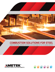 Combustion Solutions for Steel Production Brochure
