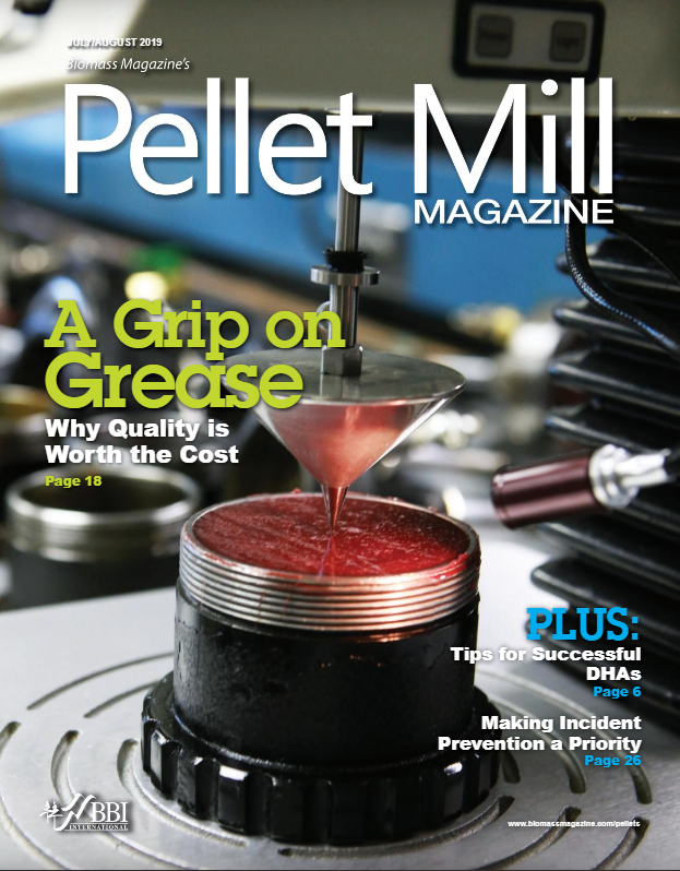 Pellet Mill Magazine - Early Detection of Spontaneous Combustion in Pellet Mills