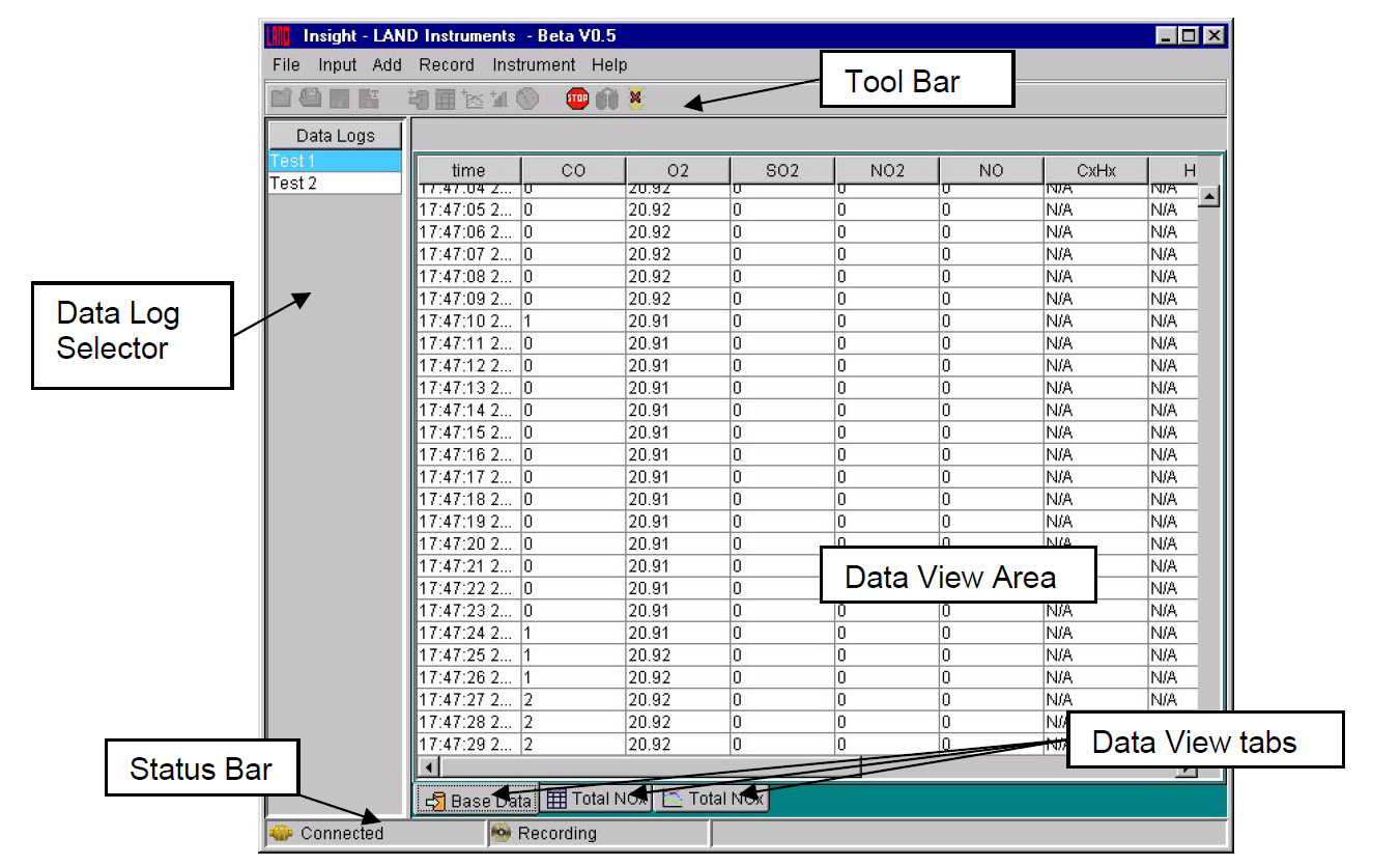 Insight Data Acquisition & Analysis Software