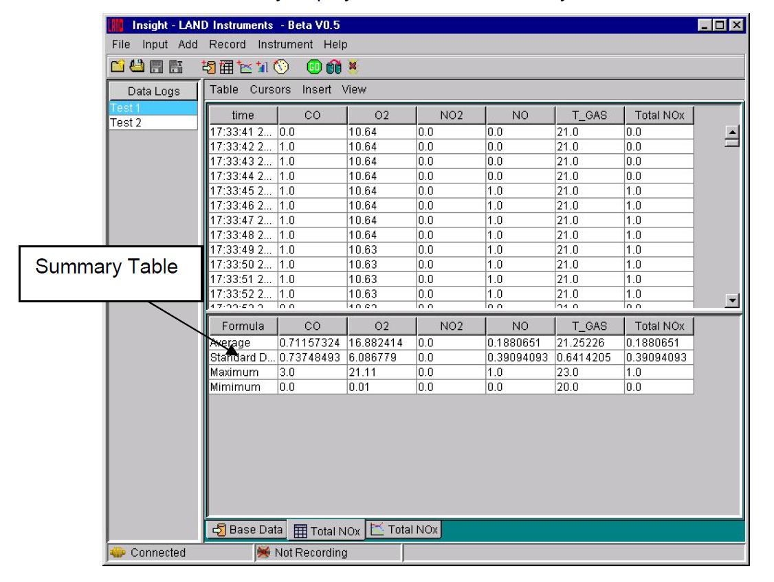 Data Acquisition Software : Insight data acquisition analysis software ametek land